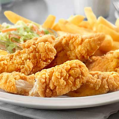 Boneless Chicken Fingers & French Fries